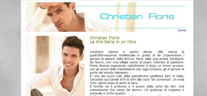 Intervista a Christian Floris su SardiniaFashion.com
