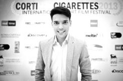 Christian Floris conferenza stampa Corti&Cigarettes2013