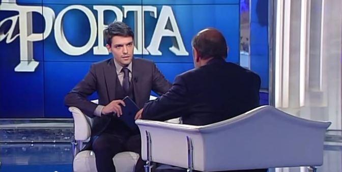 Christian Floris intervista Bruno Vespa