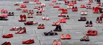 Scarpe Rosse contro la violenza sulle donne… #iocisarò